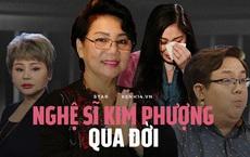 Gia Bảo xót xa thông báo nghệ sĩ Kim Phượng qua đời vì Covid-19, Hồng Vân cùng dàn sao bàng hoàng nói lời tiễn biệt