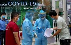 Có 14 ca dương tính, BV Phổi Hà Nội phong tỏa, dựng lều dã chiến. Thêm 2.708 ca mắc mới, 154 bệnh nhân COVID-19 tử vong