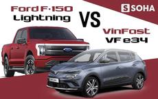 VinFast VF e34 'chạm trán' mẫu xe quốc hồn quốc túy Mỹ: Thật bất ngờ - tám lạng nửa cân!