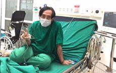 Nghệ sĩ Giang Còi gày sọp tiều tụy, thông báo tình hình sức khỏe
