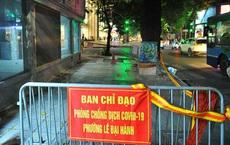 Hà Nội: Tạm phong tỏa trụ sở CA phường Lê Đại Hành do 1 công an test nhanh dương tính