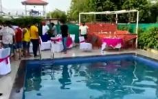 Lén mở tiệc trong nhà giữa dịch, hơn 60 người bị bắt khi vẫn còn đang ngâm mình trong bể bơi