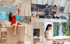 Cận cảnh căn bếp đặc biệt trong biệt thự mới tậu của vợ chồng Hồ Ngọc Hà