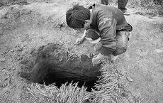 Cứ cách vài tháng trên ruộng của người nông dân lại xuất hiện những hố không đáy kỳ lạ, cảnh sát vào cuộc: Sự thật lộ diện!