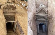 Khai quật mộ cổ, phát hiện bức tranh tường tinh xảo thời nhà Nguyên