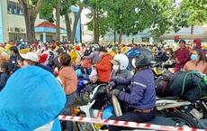 Bình Thuận đề nghị Đồng Nai dừng đưa đoàn người về bằng xe máy ngang qua tỉnh