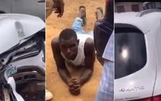 Gửi ô tô ở chỗ rửa xe, khi quay lại người đàn ông tái mặt khi xế sang của mình đã trở thành đống sắt vụn