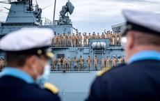"""Chiến hạm Đức tới biển Đông: """"Phép lạ"""" thời bà Merkel, Berlin rơi lệ vì TQ gạt phắt 1 yêu cầu?"""