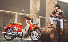 """Xe máy Thái tựa Honda Cub ăn điểm vì giá cực rẻ, thiết kế """"chặt chém"""" kèm bình xăng 4 lít"""