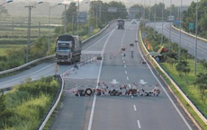 Chặn đường, ép lái xe trên cao tốc về Hà Nội phải đi vòng trả phí