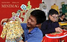 'Phù thủy' của những chiếc áo trăm triệu duy nhất Việt Nam: Áo vua mặc thế nào tôi thêu đúng như thế, chuẩn đến từng milimet