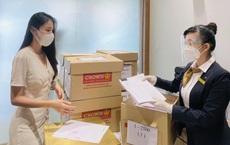 Thủy Tiên, Công Vinh đã nhận 18.000 tờ sao kê ở ngân hàng, hẹn 15h livestream công khai minh bạch