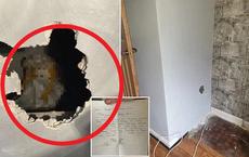 Vừa đến nhà mới, chủ nhân phát hiện thứ rùng rợn bên trong bức tường, bạn bè khuyên chuyển nhà mau