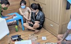 Bắt quả tang 2 'hot girl' đang cùng bạn trai mở tiệc ma túy trong phòng trọ