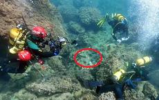 Đi lặn biển, 2 anh em vô tình đụng trúng kho báu, càng nhìn càng không dám tin vào mắt mình