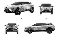 Lộ thiết kế mẫu xe mới nữa của VinFast: Xuất hiện một chi tiết kỳ lạ và khó hiểu - Có mối liên hệ với Cadillac?