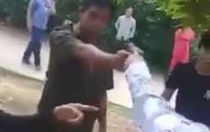 Công an xã cầm súng dọa bắn dân sau khi có xô xát