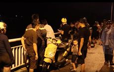 Cả trăm người trắng đêm tìm kiếm nam thanh niên để xe máy trên cầu nghi nhảy sông tự tử