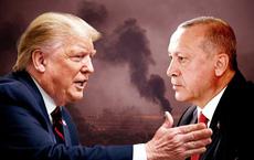 """Số phận bức thư hăm dọa """"kì quái"""" của ông Trump: Đọc xong thư, TT Thổ Nhĩ Kỳ liền thẳng tay ném vào sọt rác"""