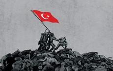 """""""Tháng 10 đen"""": Ras al-Ain sụp đổ, dân chạy theo quân Mỹ, lính Kurd chĩa súng bắt ở lại?"""