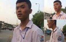 Nam sinh Nghệ An chạy xe máy ra Hà Nội tìm bạn gái qua mạng rồi bị lạc