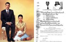 """Không chỉ trục xuất, đây là cách vua Thái Lan """"trị tội"""" vợ cũ ngoại tình: Dán cáo thị quanh hoàng cung, 4 con trai cũng bị từ mặt"""
