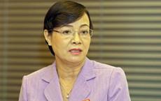 """Tranh luận về giờ làm thêm, bà Nguyễn Thị Quyết Tâm rơi nước mắt nói """"có cha mẹ nào muốn xa con"""""""