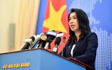 Việt Nam bác bỏ hoàn toàn nội dung của Trung Quốc về chủ quyền đối với Hoàng Sa, Trường Sa