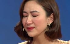 """Á hậu Hà Thu bật khóc: """"Tôi không bỏ nhà đi vì không có chỗ nào để đi"""""""