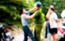 Thanh niên 9X gây rối, dùng kéo tấn công Đại uý công an bị thương