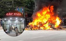 Nữ sinh may mắn thoát chết kể lại giây phút bị xe Mercedes đâm trúng rồi bốc cháy dữ dội