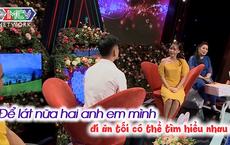 """Bạn muốn hẹn hò: Rào vừa mở, cặp đôi đã có quyết định khiến Quyền Linh nhắc """"bình tĩnh đi"""""""