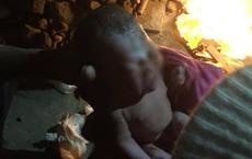 Bỏ rơi bé trai sơ sinh trong thùng rác giữa đêm rét mướt ở Hà Nội