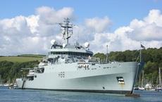 Tàu hải quân Anh đi qua eo biển Đài Loan, tướng TQ liền lôi chuyện từ thế kỷ trước ra cảnh cáo