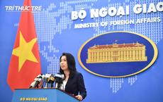 Việt Nam xác minh thông tin tàu hải cảnh Trung Quốc tiến vào vùng thềm lục địa Việt Nam
