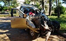Tai nạn thảm khốc ở Gia Lai: Ô tô bán tải tông trực diện xe tải, 3 người chết, 3 người bị thương