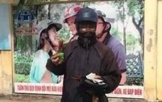 Nam thanh niên đóng giả 'ăn mày mặt đen' đã bỏ trốn