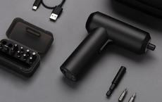 Xiaomi ra mắt tô vít điện, 12 đầu vít, thiết kế tối giản, pin 2.000mAh, giá chỉ 535 ngàn