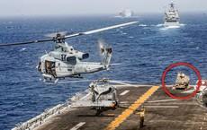 Ma trận phòng thủ trên tàu chiến Mỹ vừa bắn hạ UAS Iran: Một con ruồi cũng khó lọt qua!
