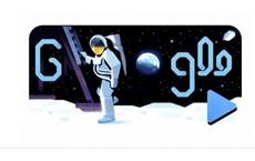 Google Doodle 19/7: Tái hiện thời khắc giấc mơ thành sự thật, con người bước lên Mặt Trăng