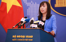 Việt Nam kiên quyết yêu cầu Trung Quốc rút nhóm tàu Hải dương 8 khỏi vùng biển Việt Nam