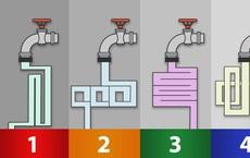 Chỉ có thiên tài mới trả lời được câu hỏi: Đường ống nào dẫn nước nhanh hơn?