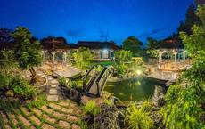 Nhà vườn rộng 1.600 m2 và hồ cá Koi 5 tỉ đồng của Hoàng Mập