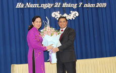 Phó Chủ nhiệm Ủy ban Kiểm tra Trung ương làm tân Bí thư Tỉnh ủy Hà Nam