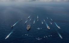 """Biển Đông-Eo biển Đài Loan: Mỹ nên chuẩn bị tinh thần """"nhịn nhục"""" như vụ UAV RQ-4A ở Iran?"""