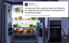Bị mẹ thu điện thoại, bé gái 15 tuổi vẫn lén vào mạng xã hội bằng tủ lạnh thông minh