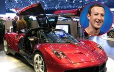 Mark Zuckerberg lái chiếc siêu xe Pagani Huayra trị giá 1,4 triệu USD - Những tỷ phú công nghệ khác lái xe gì?