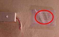 """Đi ở trọ gặp vô vàn """"chuyện khó nói"""", cô gái viết giấy dán ở ổ điện với nội dung đanh thép"""
