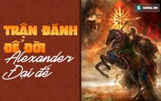 Nếu chưa biết tài dụng binh kiệt xuất của Alexander Đại đế, hãy xem trận đánh này của ông