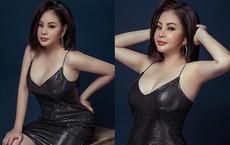 Danh hài Lê Giang thoải mái mặc sexy ở tuổi 47